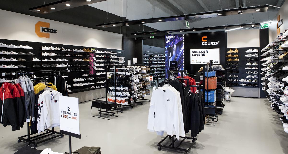 new balance femme magasin courir